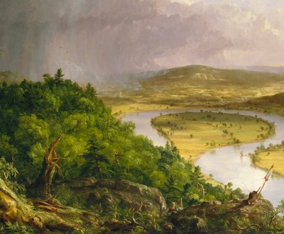 The Oxbow (The Connecticut River near Northampton), by Thomas Cole, 1836.
