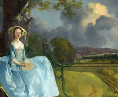 Mr. and Mrs. Andrews, by Thomas Gainsborough, c. 1750. National Gallery, London.