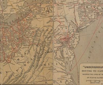 """Underground"" routes to Canada."