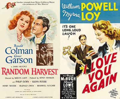 Random Harvest (1942) and I Love You Again (1941).