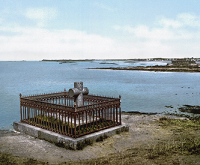 Chateaubriand's tomb, Saint-Malo, France c. 1890-1905. Library of Congress, Prints and Photographs Division, Photochrom Prints Collection.