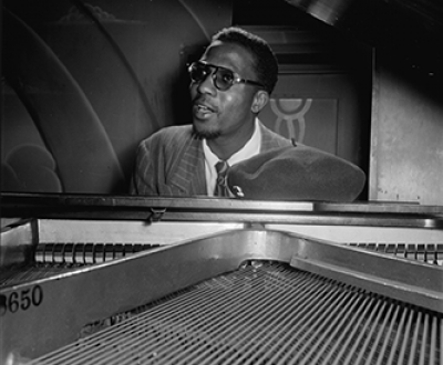 Thelonious Monk, Minton's Playhouse, New York, 1947. Photograph by William P. Gottlieb. Library of Congress, Music Division.