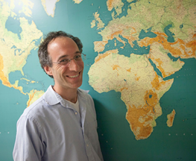 David Reich. Photograph by Kris Snibbe / Harvard University.