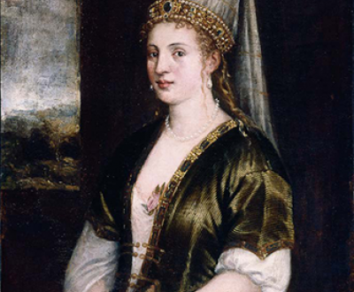 La Sultana Rossa, by Titian, c. 1550. Ringling Museum of Art, Sarasota.