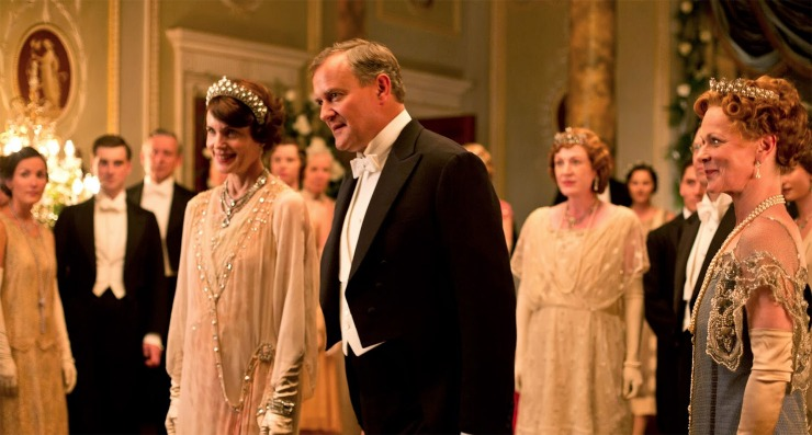 """Friends and Lovers, Lords and Ladies The lovers of """"Downton Abbey"""" become more passionate with age—but it's the most aristocratic couple that remains surprisingly steadfast."""