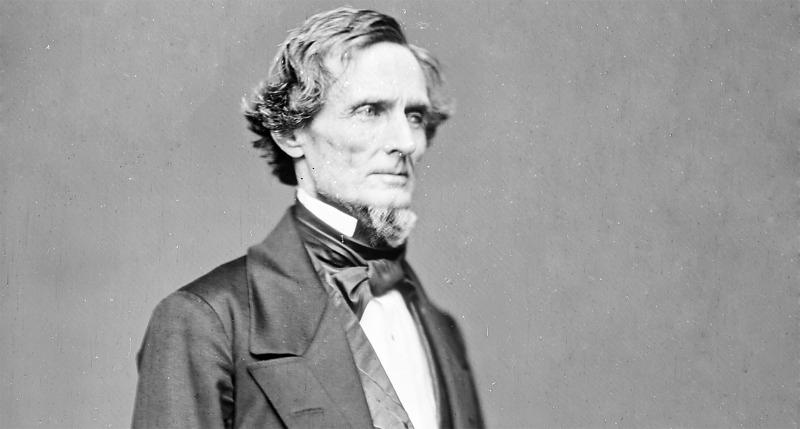 Jefferson Davis, 1861.