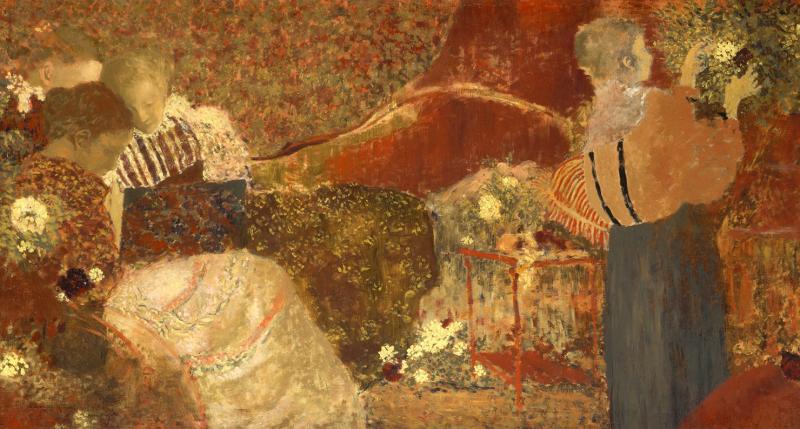 The Album (detail), by Édouard Vuillard, 1895. The Metropolitan Museum of Art.