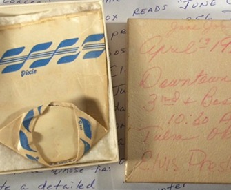 Elvis Presley-owned Dixie Cup.