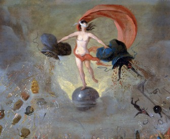 Allegory of Fortune, by Balthazar Nebot, c. 1730.