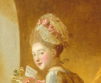 The Love Letter, by Jean Honoré Fragonard, early 1770s.