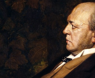 Henry James, by Jacques-Emile Blanche, 1908. National Portrait Gallery, Washington D.C.