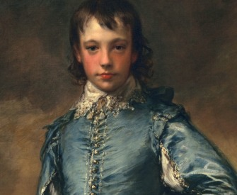 The Blue Boy, by Thomas Gainsborough, c. 1770.