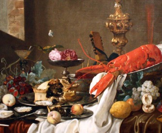 Still Life, by Carstian Luyckx, c. 1640. Columbus Museum of Art.