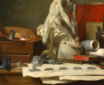 The Attributes of the Arts and the Rewards Which Are Accorded Them, by Jean-Baptiste-Siméon Chardin, 1766.