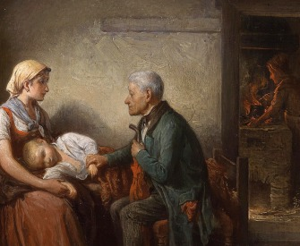 The Doctor, by Friedrich Friedländer, 1870.
