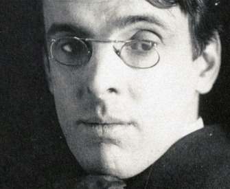 William Butler Yeats, photograph by Alice Broughton.