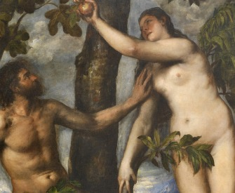 The Fall of Man, by Titian, c. 1550.