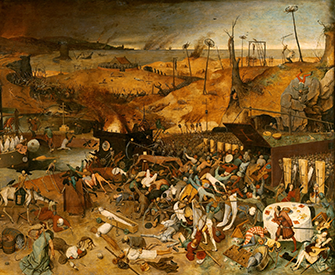 The Triumph of Death (detail), by Pieter Bruegel the Elder, 1562–63. Prado Museum.