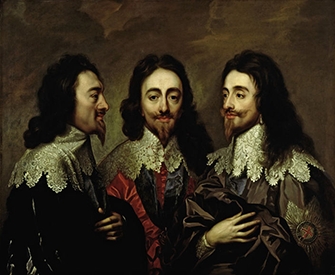 Charles I, by Anthony van Dyck, c. 1750. Victoria and Albert Museum, bequeathed by John Jones.
