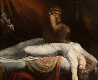 The Nightmare, by Henry Fuseli, 1781.