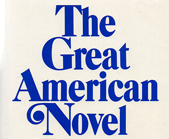 """The Great American Novel"" (1973) by Philip Roth."