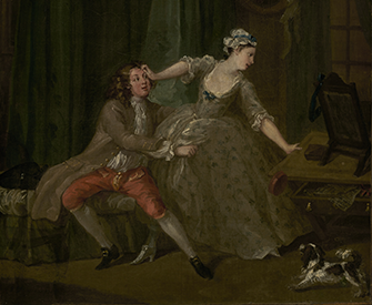 Before, by William Hogarth, c. 1730–31. The J. Paul Getty Museum, digital images courtesy of the Getty's Open Content Program.