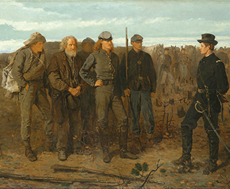 Prisoners from the Front, by Winslow Homer, 1866. The Metropolitan Museum of Art, Gift of Mrs. Frank B. Porter, 1922.