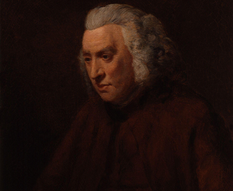 Samuel Johnson, by John Opie. National Portrait Gallery, London.
