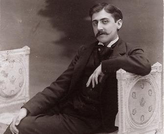 Postcard of Marcel Proust, by Otto Wegener, c. 1895.