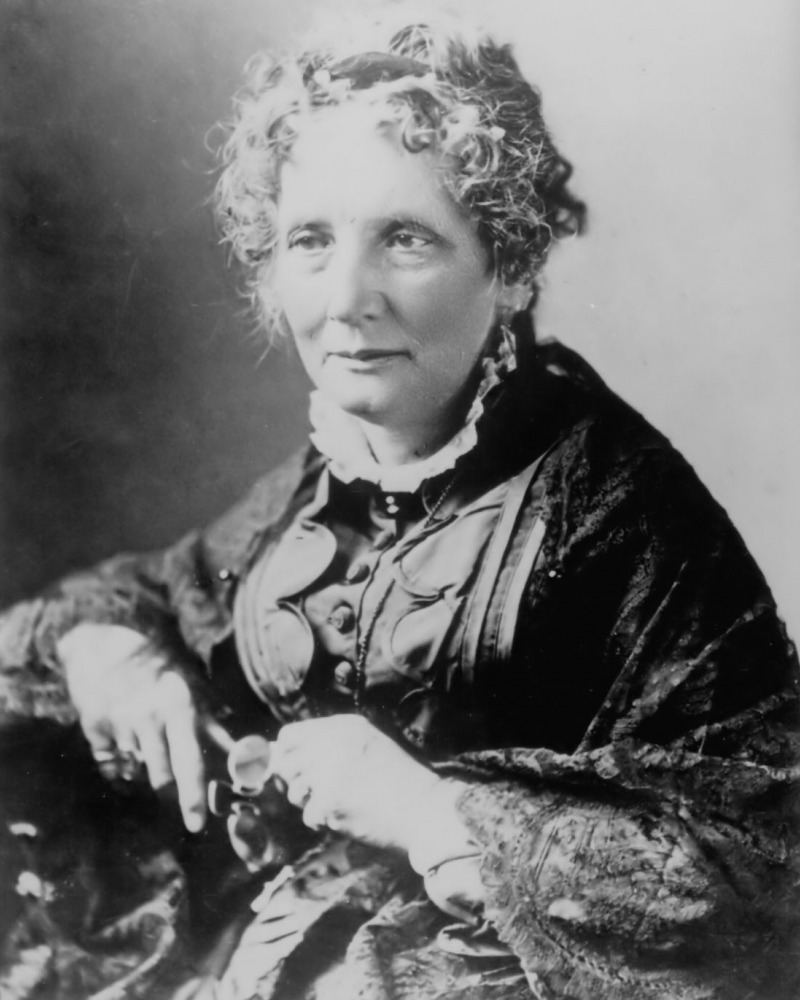 an analysis of freedom from slavery in uncle toms cabin by harriet beecher stowe In uncle tom's cabin,  more subtle than the blatant antislavery theme in the novel is the treatment of attitudes toward slavery here, stowe  harriet beecher.