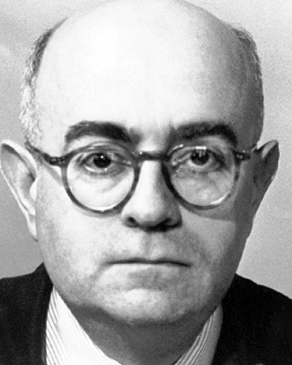 German philosopher and music critic Theodor Adorno.