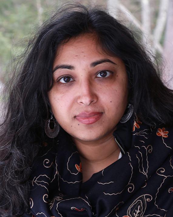 Gaiutra Bahadur. Photograph by Joanna Eldredge Morrissey.