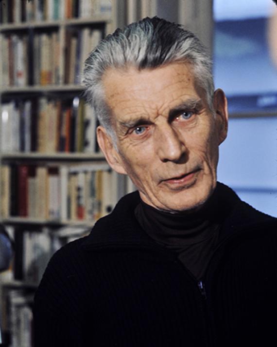 Samuel Beckett, 1977. Photograph by Roger Pic.