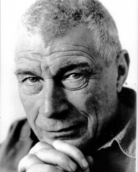 Photograph of English art critic, novelist, and painter John Berger.