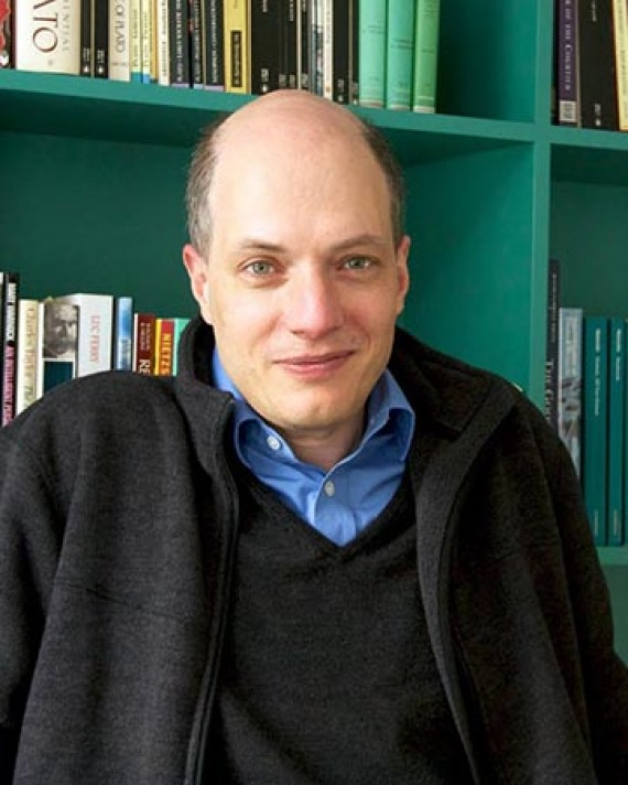 Swiss writer, philosopher, and television presenter Alain de Botton.