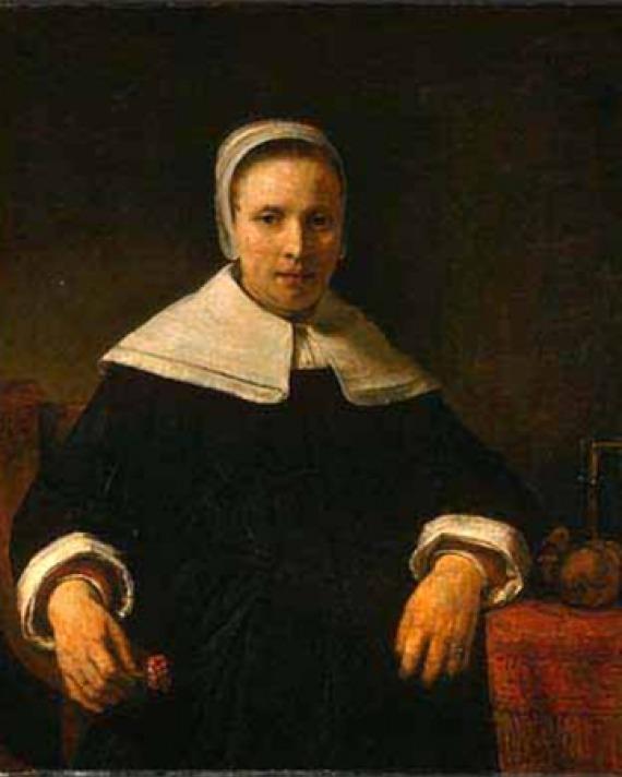 American poet Anne Bradstreet.