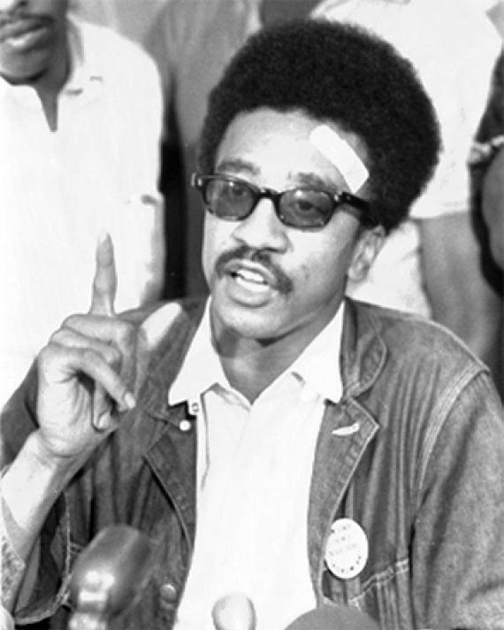 Black power leader H. Rap Brown.