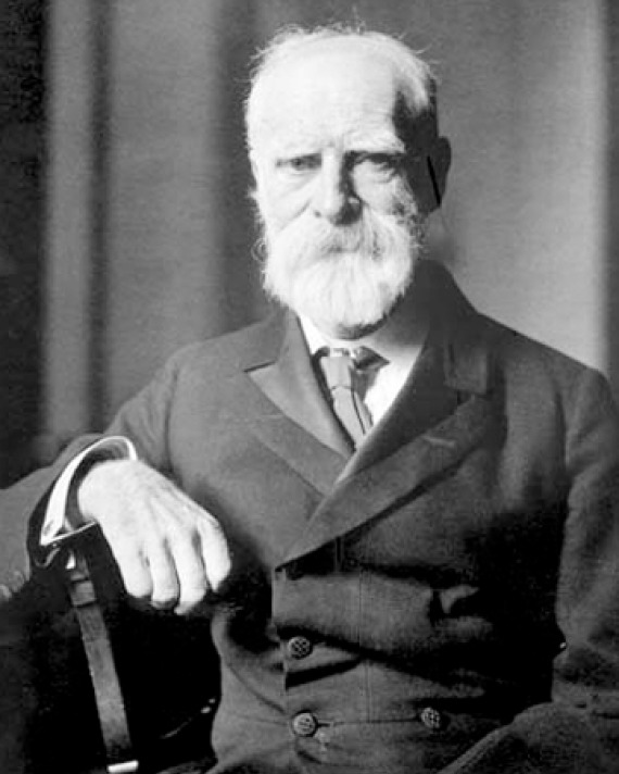 Photograph of British historian and diplomat James Bryce.