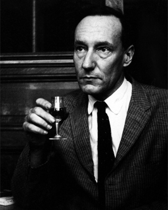 Photograph of American writer William S. Burroughs.