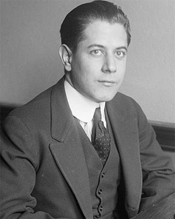 Cuban chess player José Raúl Capablanca.