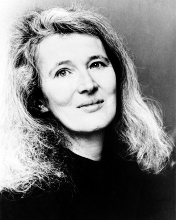 British author Angela Carter.