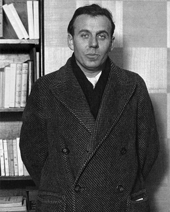 French writer Louis-Ferdinand Céline.