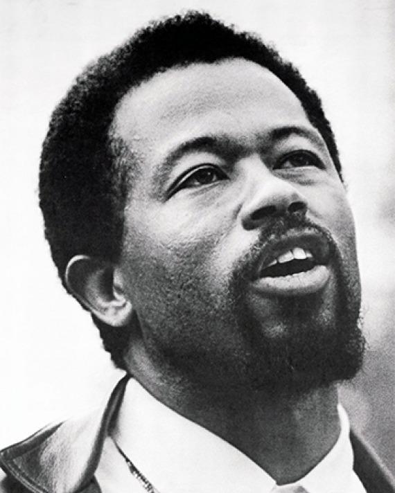 American black militant Eldridge Cleaver.