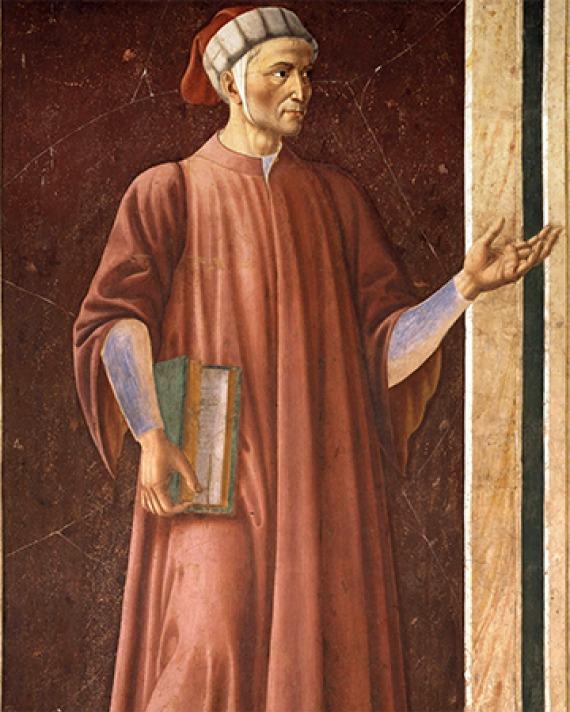 Italian poet Dante Alighieri.