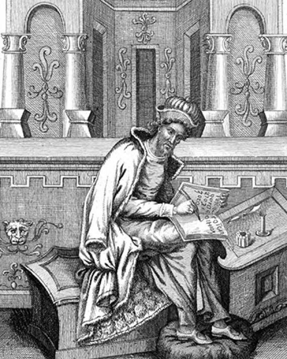 Greek historian and teacher of rhetoric Dionysius of Halicarnassus.