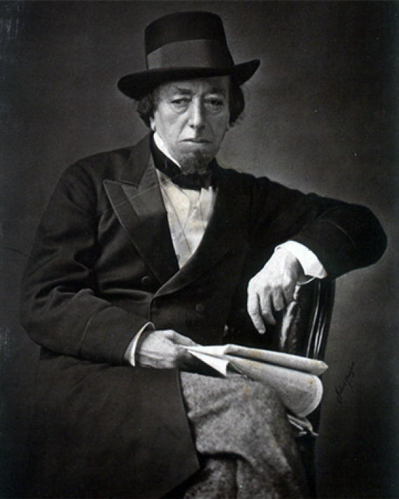 Former Prime Minister of United Kingdom Benjamin Disraeli.