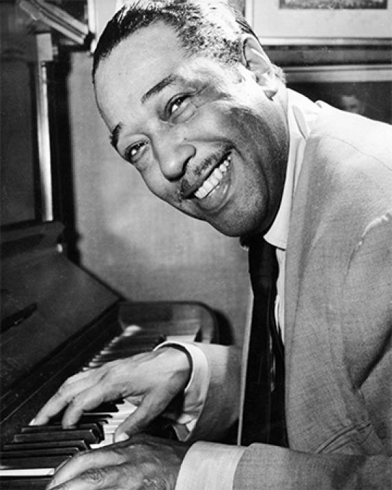 American musician Duke Ellington.