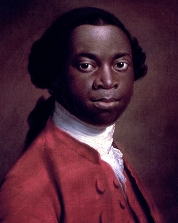 Portrait of West African writer and former slave Olaudah Equiano.