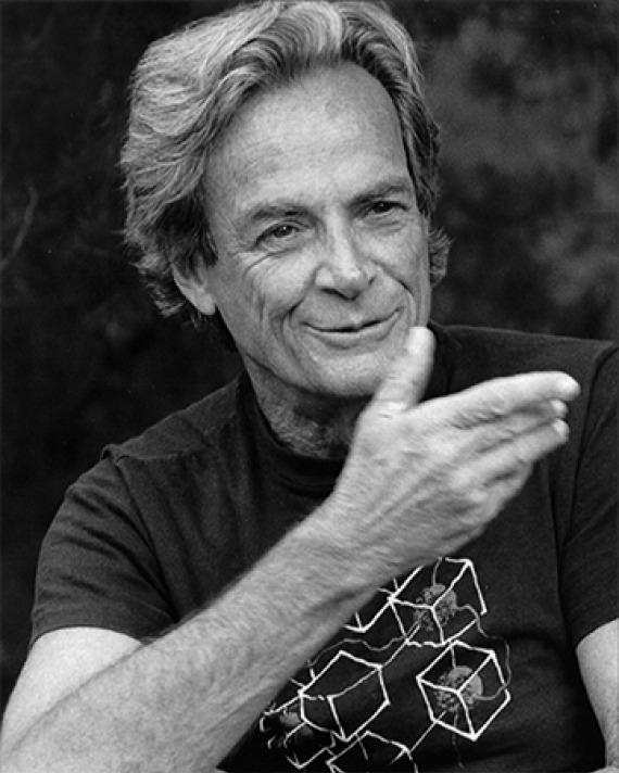 American physicist Richard Feynman.
