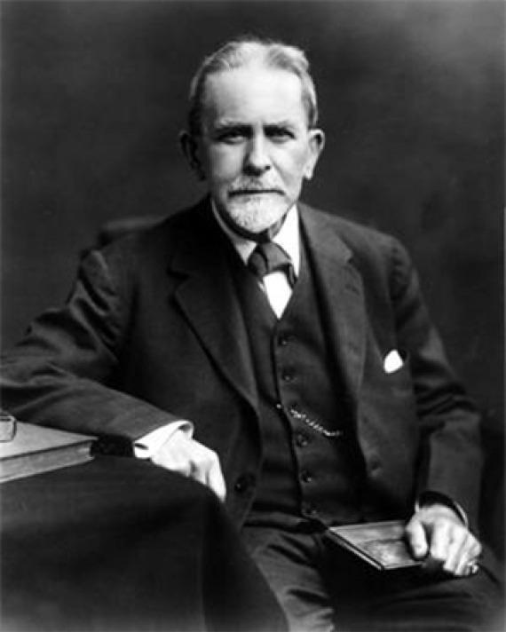 Scottish anthropologist and historian of religion James G. Frazer.